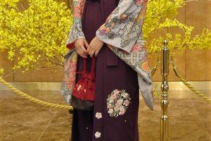 袴で着物散策