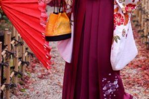 和傘と袴レンタル