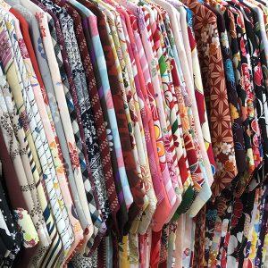 着物の陳列