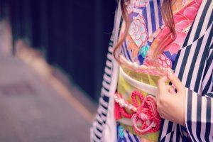 着物の帯飾り