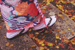 着物と草履