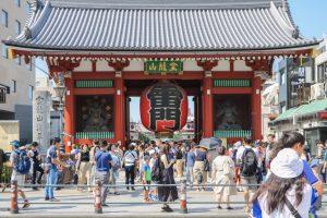 浅草の観光地「雷門」